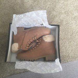 Madden color blush boots